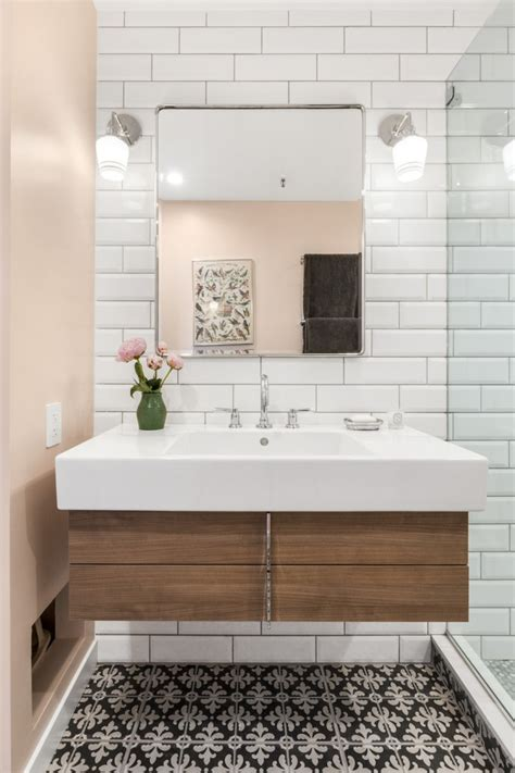 bathroom ideas a tired bathroom shines with these bathroom renovation ideas