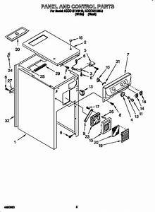 Kitchenaid Trash Compactor Parts Diagram