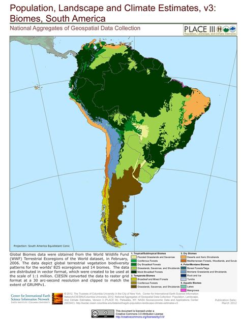Biomes South America Pinterest Biomes Geography And