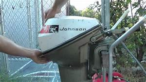 9 5hp Johnson Short Shaft Tiller Outboard Motor