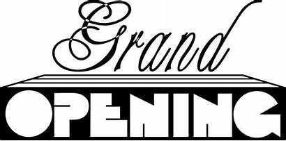 Grand Opening Clipart Clip Text Cliparts Decorative