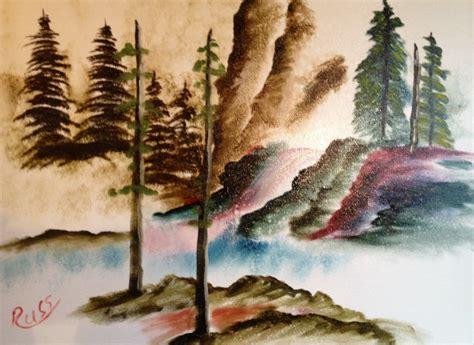 Waterfall Oil Paintings