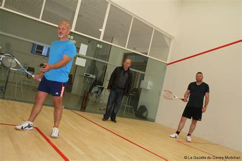salle de squash sport naizin mise sur l original avec le squash 171 article 171 la gazette du centre morbihan