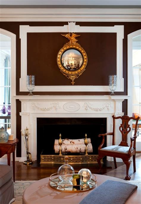 connecticut governors mansion traditional living room