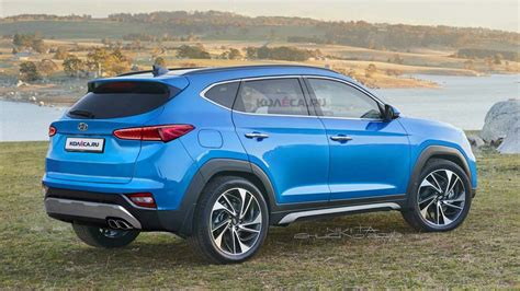 Tucson pushes the boundaries of the segment with dynamic design and advanced features. Next-gen 2020 Hyundai Tucson Imagined In A Digital Rendering