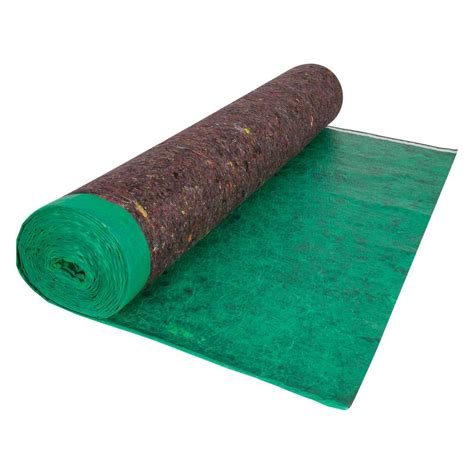 home depot laminate underlayment roberts 100 sq ft 3 67 ft x 27 3 ft premium felt cushion underlayment roll shop your way