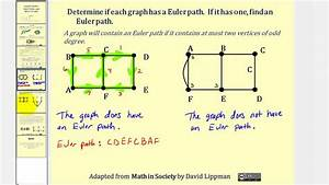 Graph Theory  Euler Paths And Euler Circuits