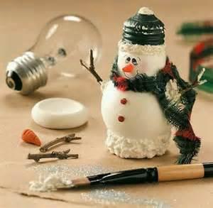 light bulb christmas ornaments creative ideas