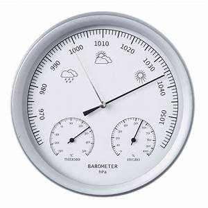 vidaXL.co.uk | Nature 3-in-1 Barometer with Thermometer ...
