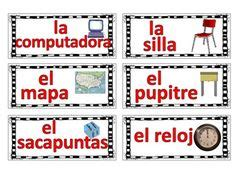 spanish word wall images spanish word wall