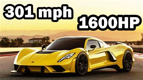 301mph Hennessey Venom F5 Story-fastest Car In The World