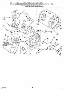 Parts For Whirlpool Ler5636eq0  Section Parts