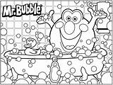 Coloring Bubble Pages Bath Printable 3d Sheet Machine Mr Drawing Fun Sheets Bubbles Colouring Template Gum Worksheets Screen April Getdrawings sketch template