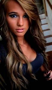 Light Brown Hair Color Caramel Highlights - Hair Color ...