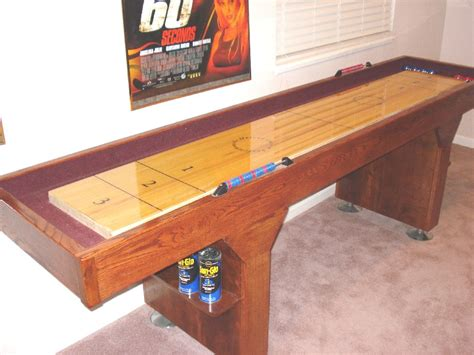 How To Build A Shuffleboard Table I Shuffleboard Blog