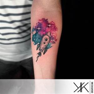 Blast Off With These Awesome Rocket Tattoos!   Tattoodo