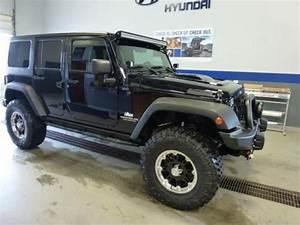 Buy used 2012 Jeep Wrangler Unlimited Sahara Black CUSTOM ...