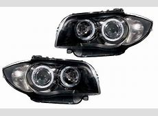 BMW 1 Series E81 E82 E87 E88 0412 Black Angel Eye