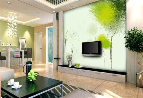 frische farben im wohnzimmer  ideen  gruen und weiss