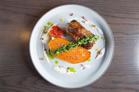 Country Style Lamb With Sweet Potato And Herb Gremolata