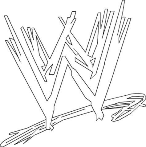 Wwe Logo Coloring Pages - Democraciaejustica