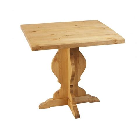 table de bistrot carree table de bistrot rustique carr 233 e en pin 79 cm achat vente mange debout table de bistrot