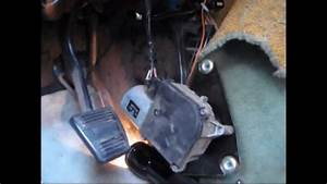 Removing Wiper Motor From A Chevy G20