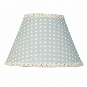 Lampenschirme Stoff Landhausstil : lampenschirm punkte point blau stoff blau creme e27 lampenschirme lampen zauberhafter ~ Frokenaadalensverden.com Haus und Dekorationen