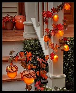 30, Beautiful, And, Easy, Fall, Staircase, Decor, Ideas