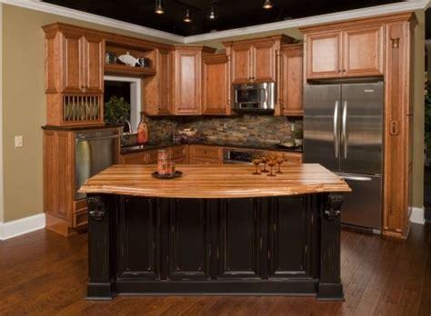 dark oak kitchen cabinets honey oak kitchen cabinets like the stone backsplash