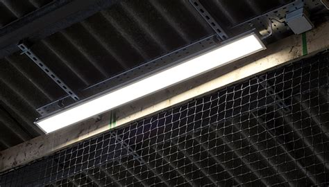 led batten linear luminaire ip replaces fluorescent