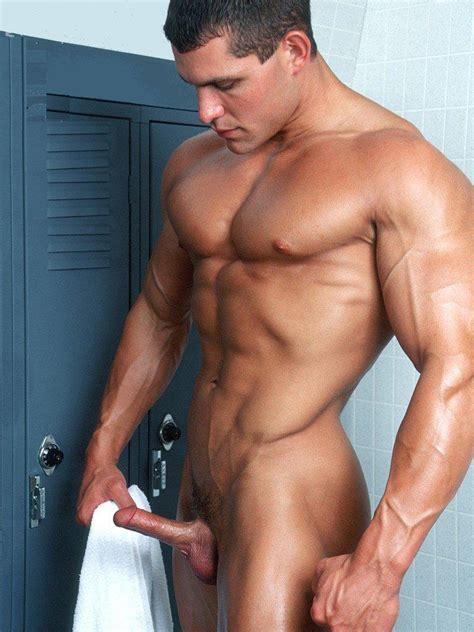 nud men in erektion