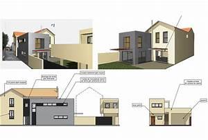 Maison Années 30 : val rie racani re architecture extension maison ann e 30 ~ Nature-et-papiers.com Idées de Décoration