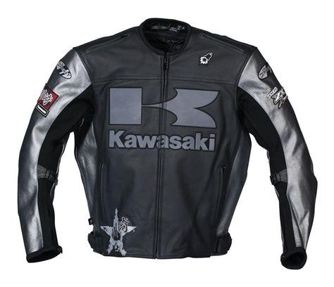 kawasaki riding jacket kawasaki heavy leather jacket revzilla