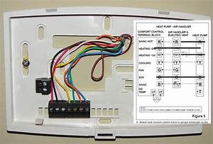 Air Conditioning Thermostat Wiring Help