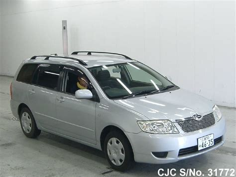 automotive air conditioning repair 2005 toyota corolla electronic valve timing 2005 toyota corolla fielder silver for sale stock no 31772 japanese used cars exporter