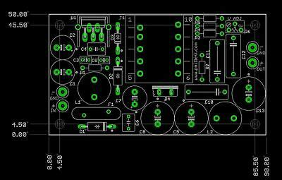 Diy Pcb High Voltage Power Supply For Tube Preamp