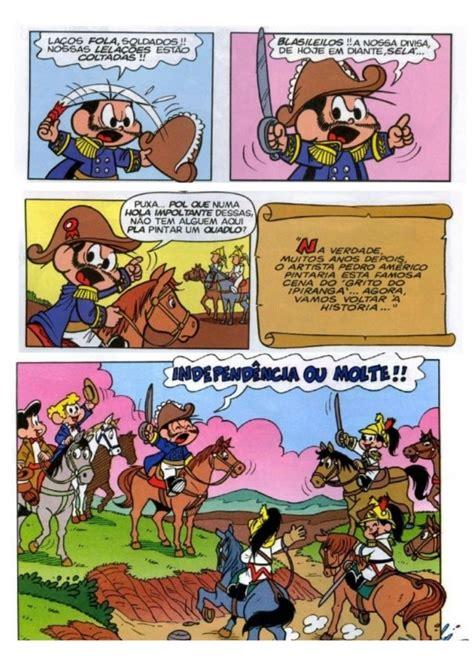 História em quadrinhos Independência do Brasil | Comic ...