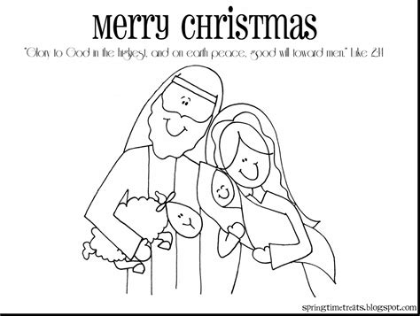 Simple Baby Jesus Coloring Pages 2686479