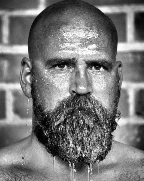 No Words, Just Beard | beardrevered | Bald with beard, Bald head with beard, Beard