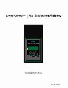 Ke2 Evaporator Enviro