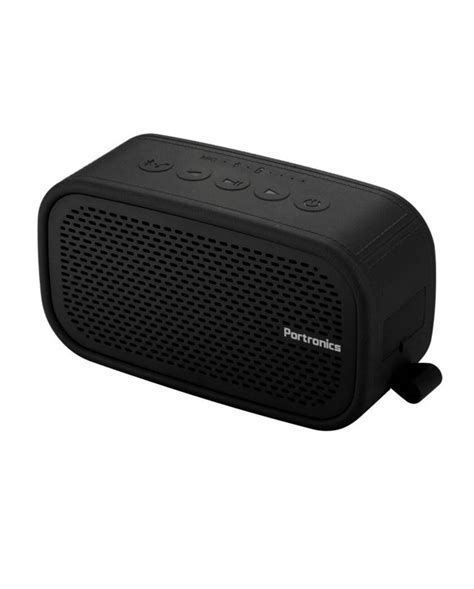 portronics posh bluetooth speaker fm india speakers ii wireless brand yashretail