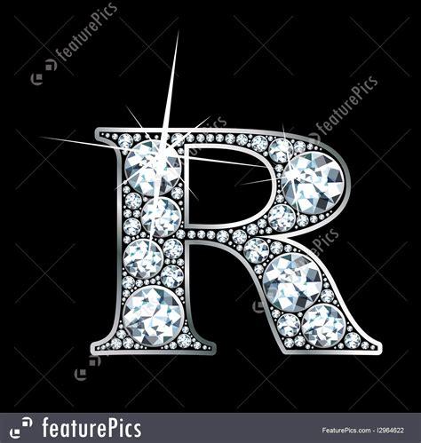 diamond letter  illustration