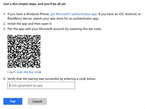 setting up two factor authentication for your account and microsoft account hanselman