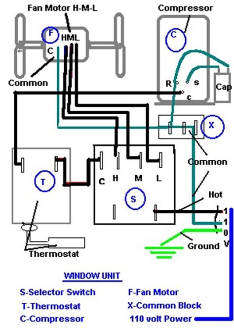 Lennox Contactor Wiring Diagram Free Picture by Window Ac Wiring Diagram Electrical Website Kanri Info