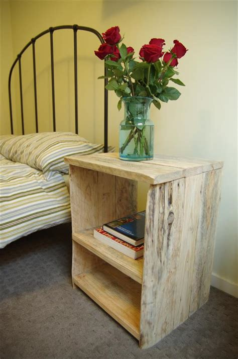 recycled pallet side table pallet furniture plans