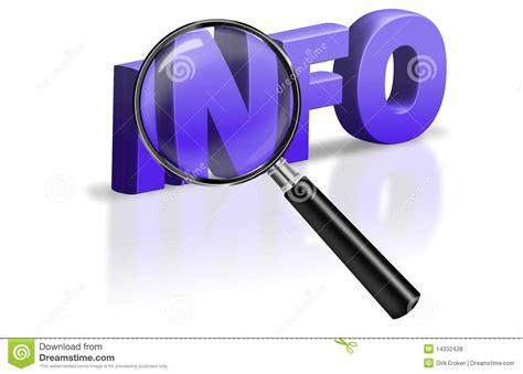Search Find Info Internet Information Button Icon Royalty