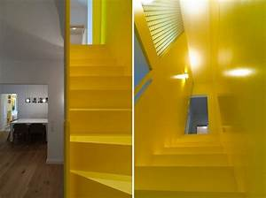 White Decorating With Yellow Color Accents Contemporary
