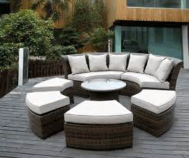 beautiful outdoor patio wicker furniture seating 7pc set new