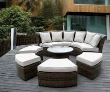 Beautiful Ohana Outdoor Patio Wicker Furniture Sectional 7 Pc Couch Rattan Effect Indoor Outdoor Furniture Set Includes Table 2 Chairs Elegant Rattan Garden Furniture Traditional Gardens Garden Design Rattan Garden Furniture On Pinterest Rattan Outdoor Furniture Garden
